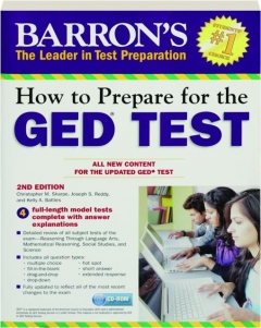 BARRON'S HOW TO PREPARE FOR THE GED TEST, 2ND EDITION