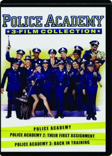 POLICE ACADEMY 3-FILM COLLECTION