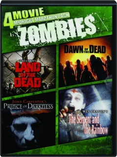 ZOMBIES: 4 Movie Midnight Marathon Pack