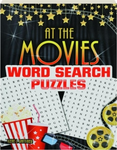 AT THE MOVIES WORD SEARCH PUZZLES