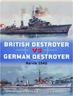 BRITISH DESTROYER VS GERMAN DESTROYER: Duel 88