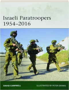 ISRAELI PARATROOPERS 1954-2016: Elite 224