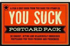 YOU SUCK POSTCARD PACK