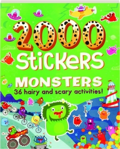 2000 STICKERS MONSTERS