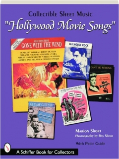 """HOLLYWOOD MOVIE SONGS"": Collectible Sheet Music"