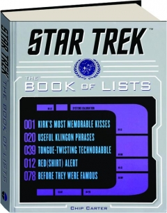 <I>STAR TREK:</I> The Book of Lists