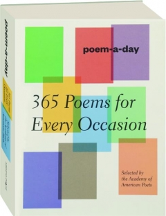 POEM-A-DAY: 365 Poems for Every Occasion