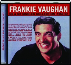 FRANKIE VAUGHAN: US & UK Singles Collection 1950-62