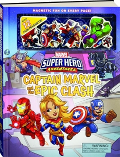 CAPTAIN MARVEL AND THE EPIC CLASH: Marvel Super Hero Adventures