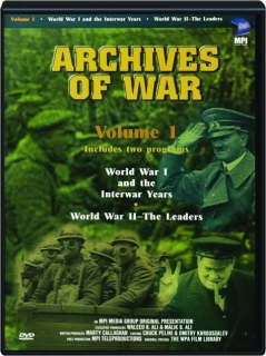 ARCHIVES OF WAR, VOLUME 1
