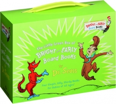 THE LITTLE GREEN BOX OF BRIGHT AND EARLY BOARD BOOKS