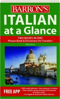 ITALIAN AT A GLANCE, FIFTH EDITION