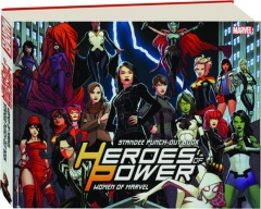 HEROES OF POWER: Women of Marvel Standee Punch-Out Book