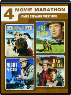 JAMES STEWART WESTERNS: 4 Movie Marathon