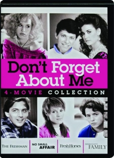 DON'T FORGET ABOUT ME: 4-Movie Collection