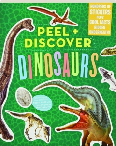 PEEL + DISCOVER DINOSAURS