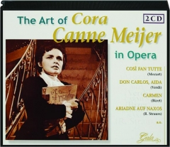 THE ART OF CORA CANNE MEIJER IN OPERA