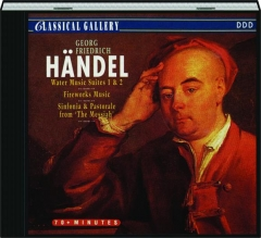 HANDEL: Water Music Suites 1 & 2