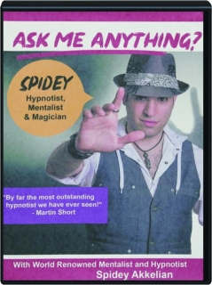 ASK ME ANYTHING? Hypnotist, Mentalist & Magician