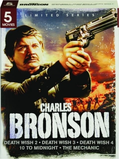 CHARLES BRONSON: Death Wish 2 / Death Wish 3 / Death Wish 4/10 to Midnight / The Mechanic