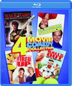 4 MOVIE COMEDY COLLECTION: Walk Hard / The Brothers Solomon / Fired Up! / Balls Out--Gary the Tennis Coach