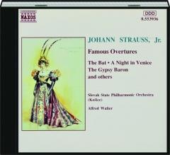 JOHANN STRAUSS, JR.: Famous Overtures