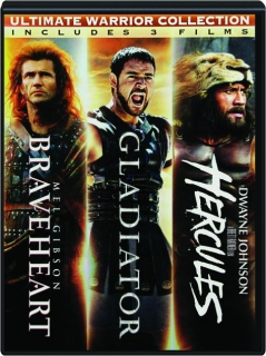 ULTIMATE WARRIOR COLLECTION: Braveheart / Gladiator / Hercules