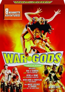 WAR GODS COLLECTION: 8 Mammoth Adventures!