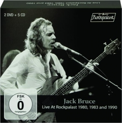 JACK BRUCE: Live at Rockpalast 1980, 1983 and 1990