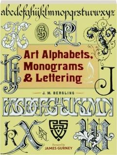 ART ALPHABETS, MONOGRAMS & LETTERING