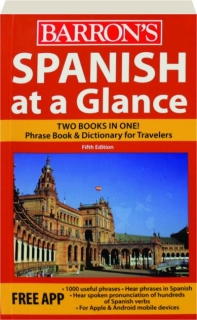 BARRON'S SPANISH AT A GLANCE, FIFTH EDITION