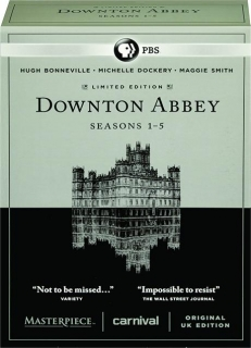 DOWNTON ABBEY: Seasons 1-5