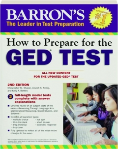HOW TO PREPARE FOR THE GED TEST, 2ND EDITION