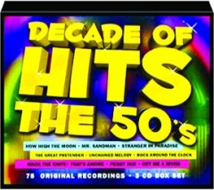 DECADE OF HITS THE 50'S