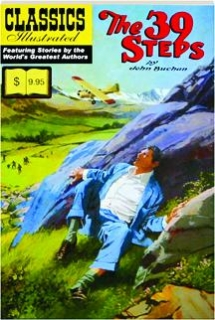THE 39 STEPS: Classics Illustrated No. 44