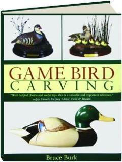 GAME BIRD CARVING