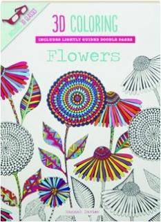 3D COLORING FLOWERS