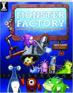 MONSTER FACTORY: Draw Cute and Cool Cartoon Monsters