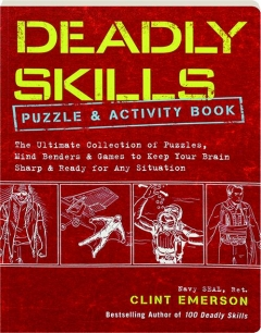 DEADLY SKILLS PUZZLE & ACTIVITY BOOK