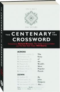 THE CENTENARY OF THE CROSSWORD