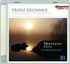 FRANZ KROMMER: Piano Quartet, Divertimento
