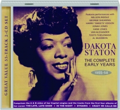 DAKOTA STATON: The Complete Early Years 1955-58
