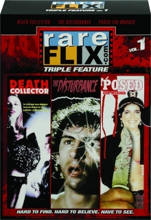 RAREFLIX TRIPLE FEATURE, VOL. 1