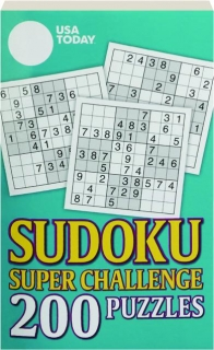 <I>USA TODAY</I> SUDOKU SUPER CHALLENGE