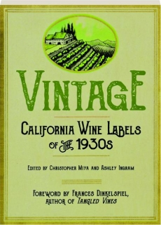 VINTAGE: California Wine Labels of the 1930s