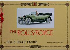THE ROLLS-ROYCE 1913 CATALOGUE