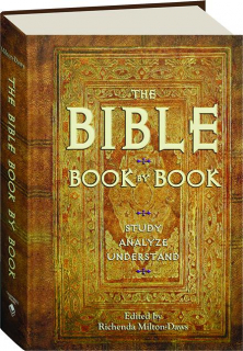 THE BIBLE BOOK BY BOOK: Study, Analyze, Understand