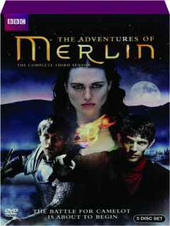 THE ADVENTURES OF MERLIN: The Complete Third Season