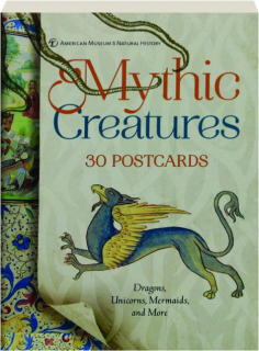 MYTHIC CREATURES: 30 Postcards