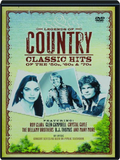 LEGENDS OF COUNTRY: Classic Hits of the '50s, '60s & '70s
